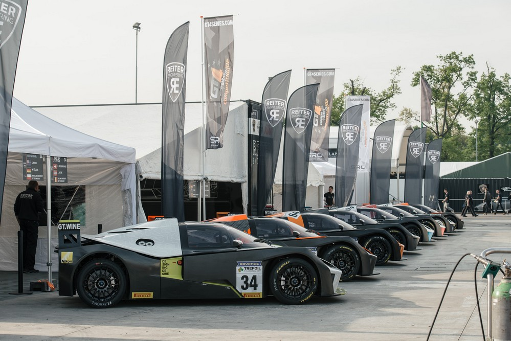 ktm x-bow gt4 on track