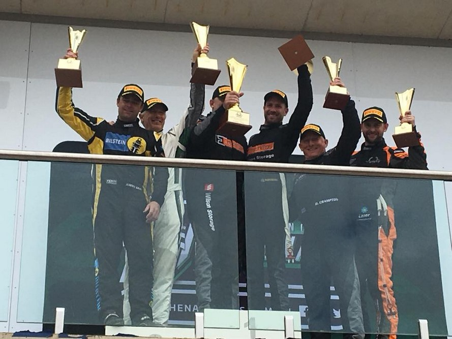 m motorsport take victory and champio nship lad of australian GT