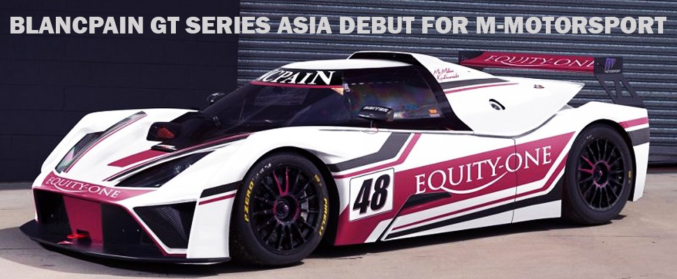 2018 Blancpain Gt Asia Mmotorsport 2